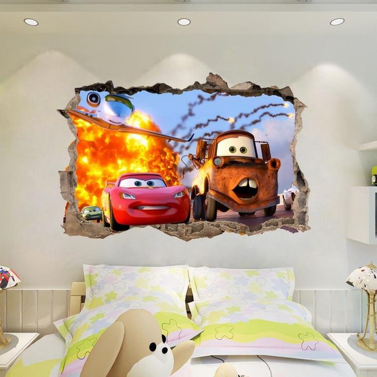 Disney.Pixar Cars Friends Large Wall Stickers U2013 The Treasure Thrift