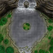 Image result for water dungeon map dnd