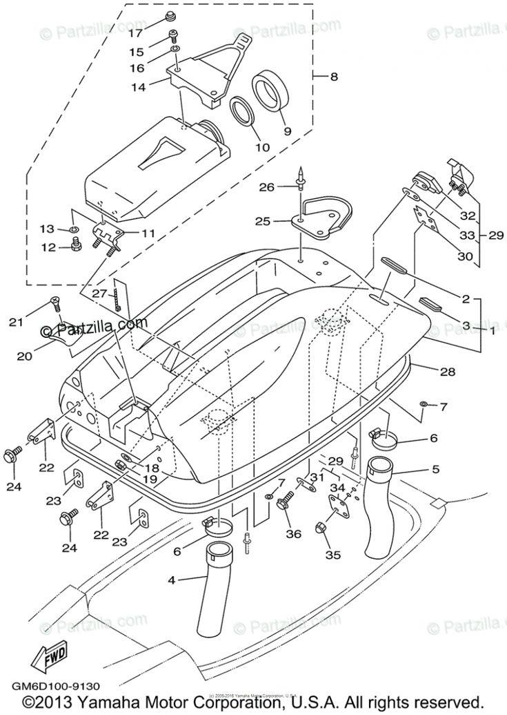Yamaha Superjet Engine Diagram di 2020