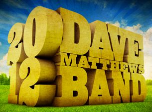 Dave Matthews Band  August 31st 2012  at The Gorge....it's all happening!