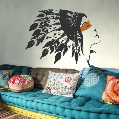 ¿Tienes un espíritu libre o salvaje?? Este es tu vinilo ideal, decora la pared de tu salón o de tu habitación de una manera original. Encuentra más vinilos en www.ubikavinilo.com