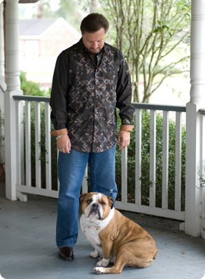 Donnie Swaggart | Evangelist | Baton Rouge With his dog ...