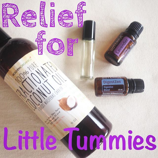 It's easy to make pre-diluted roller bottle blends and so convenient to have on hand to use with your little ones. This is one you never want to be without because it's great for soothing upset tummies! Add 3 drops each of digestZen and lavender to a 10ml roller bottle and fill the rest with fractionated coconut oil. Roll directly on the belly.  #doTERRA #essentialoils #naturalliving #naturalmedicine #healthyliving #healthychoices #lavender #digestzen #stomachache #momsofbabies…