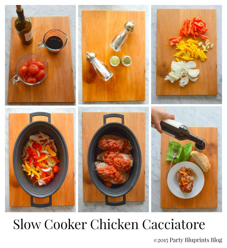 Best 25+ Chicken cacciatore slow cooker ideas on Pinterest ...