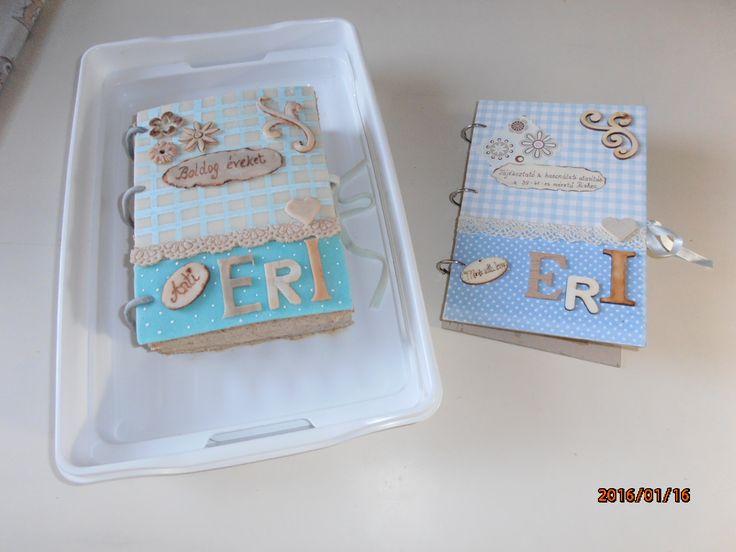 könyv és torta
