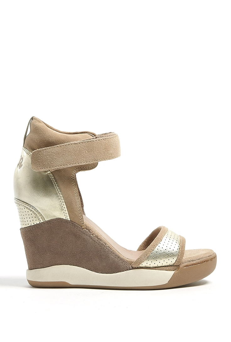 Platine Eloise Ankle Strap Wedges by Ash