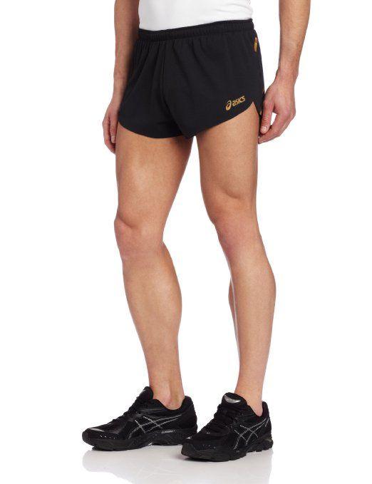 Asics Men's Til Split Short, Large, Black: Clothing