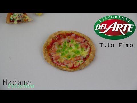 Pizza (Tuto Fimo) - YouTube