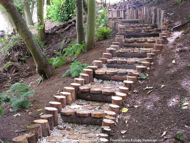 Diy backyard design, front yard uphill need ideas for ... on Uphill Backyard Landscaping Ideas id=99847