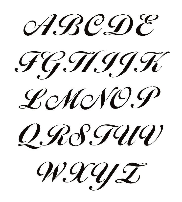 Z Rhinestone Transfer Hotfix Iron on Motif Alphabet Old English Style Letter A