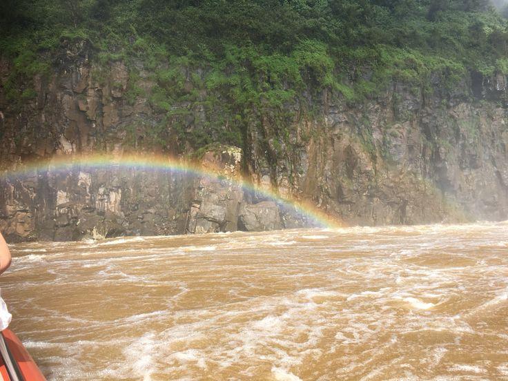 Rainbow at Iguacu