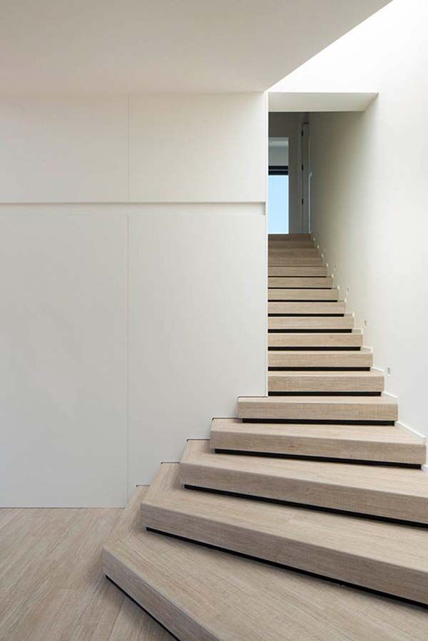 Symmetries With Nature U2013 House In Barcelona By Susanna Cots. Modern  StairsContemporary ...