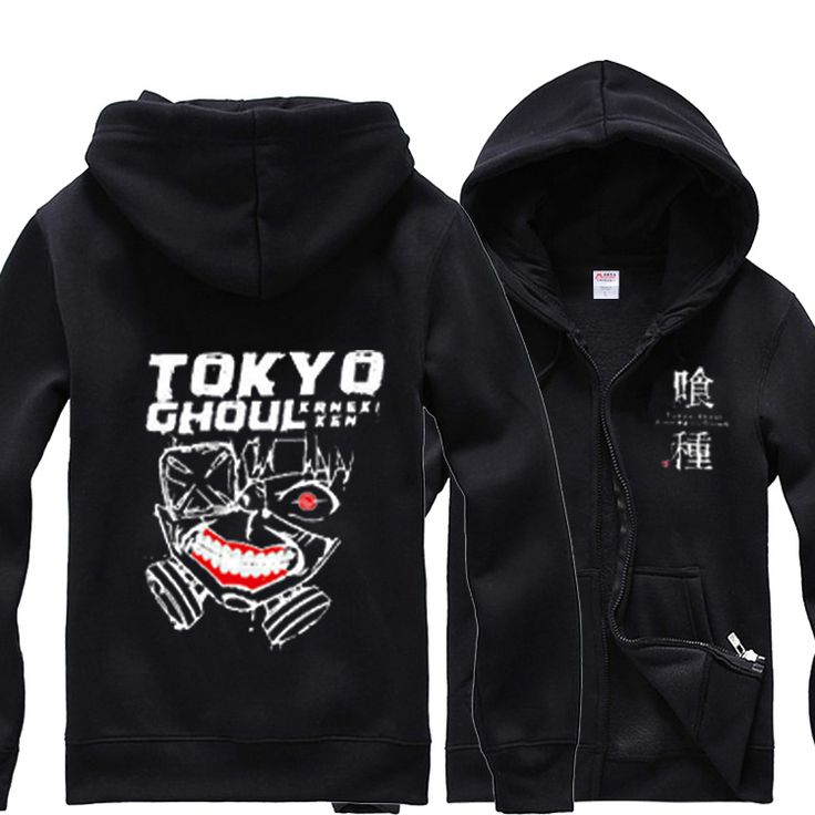 HOT Anime Tokyo Ghoul Hoodies Zipper Sweatshirts Hoodie Coat Jacket MEN WOMEN Top Clothing for Spring & Autumn #Affiliate