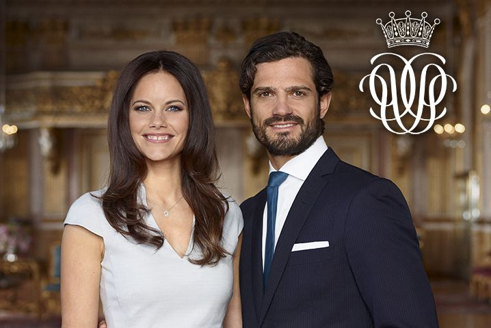 New official photos of Carl Philip of Sweden and Sofia Hellqvist