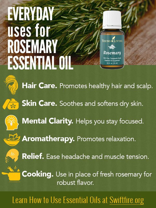 Young Living Essential Oils: Rosemary