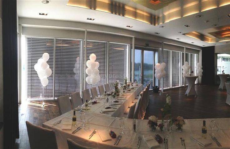 Gasballon - Sträuße als Raumdekoration zur Hochzeit