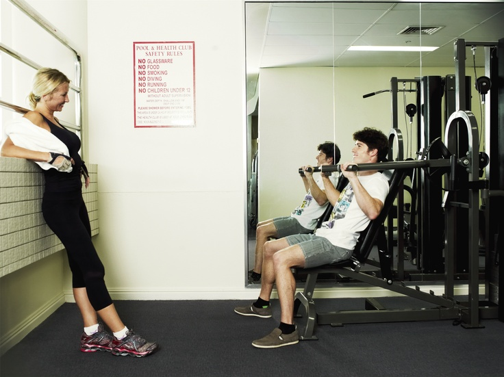 Rydges Parramatta has great gym facilities for guests.