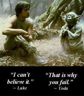 You have to have the belief!