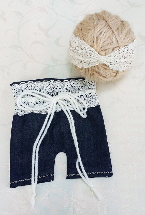 READY TO SHIP Newborn Girl Set Newborn Short by SquishyBabyStuff, $28.75