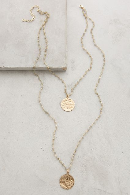 Oloron Layered Necklace #anthroregistry