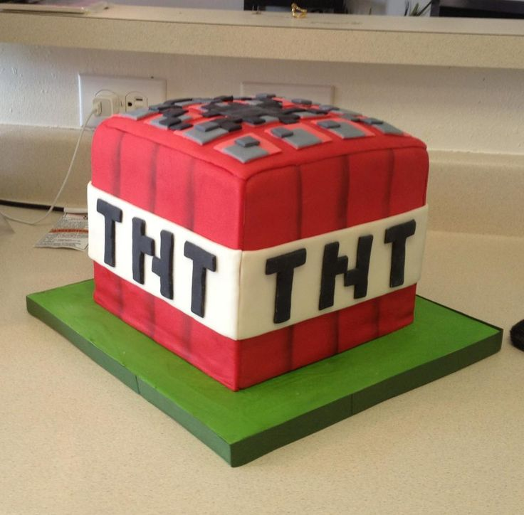 Looking for cake decorating project inspiration? Check out Minecraft Cake by member Julesmjen.