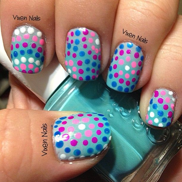 designs with my dotting tool :)