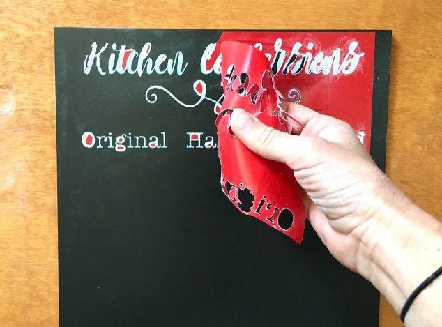 шкаф кухонный преобразования доске график, доске, краски, ремесла, кухонная мебель, дизайн кухни