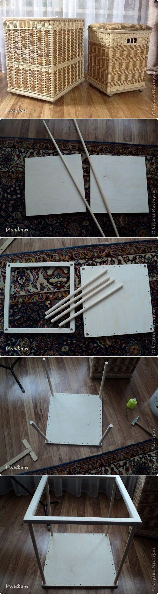 (+1) - Плетение короба   СВОИМИ РУКАМИ   Плетение из газет   Постила