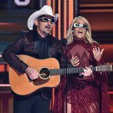 ​Carrie Underwood Breaks CMAs Rules by Completely Roasting ​Donald Trump