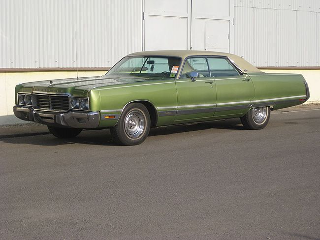 1973 chrysler new yorker brougham american autos 1971 for 1978 oldsmobile cutlass salon brougham