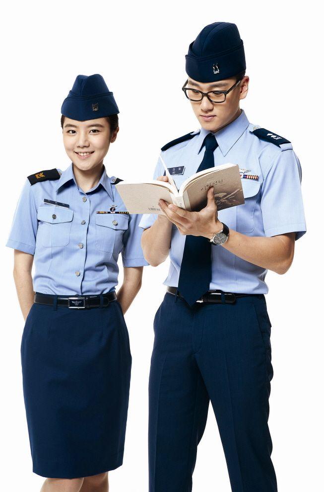 2014년 바뀐 공군 복제!  여름 약복(하약복)입니다~!
