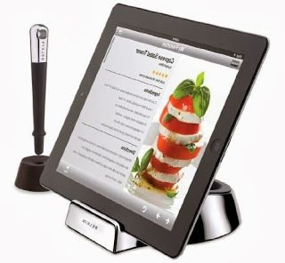 IPad Stand With Wand :: 40 GENIUS Kitchen Gadgets