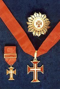 Christo - Conj. de Condecorações - Oficial - Comendador - Grã-Cruz Ordem Militar de Nosso Senhor Jesus