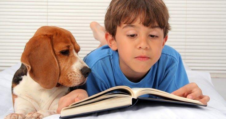 Πώς τα σκυλιά βοηθάνε στην ανάγνωση των παιδιών