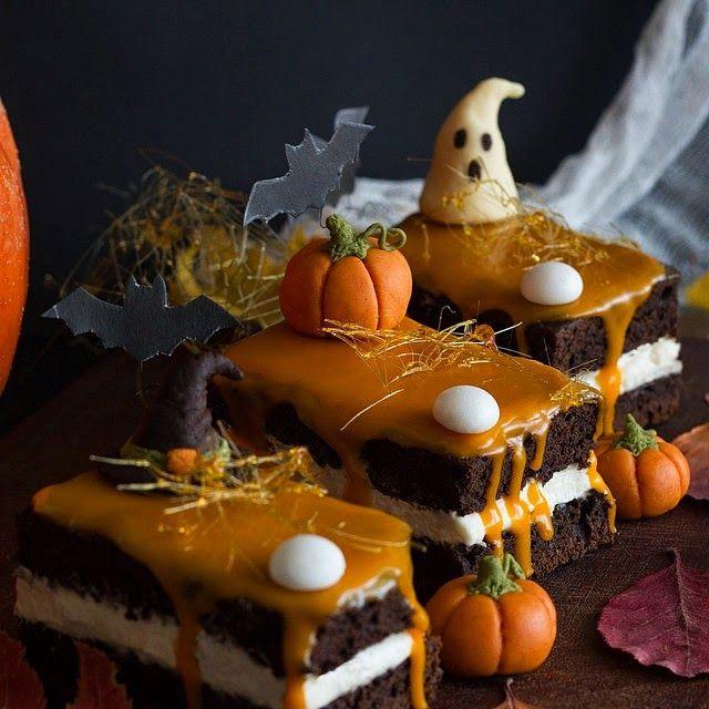 Застолье: Пирожное Halloween