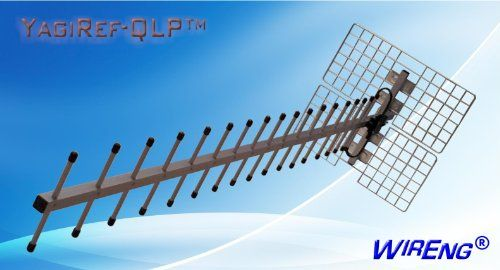 YagiRef-QLP™ 22dBi Wide-Band 3G + 4G Antenna for BandRich Bandluxe R500 The YagiRef-QLP™ offers a signal gain comparable to amplifier systems but without the complications and damage to the environment that amplifiers cause!. Connects directly to your BandRich Bandluxe R500 increasing the transmitted and received signal strength by as much as 25dBi!. A permanent solution to any signal problem ... #WirEng® #Wireless