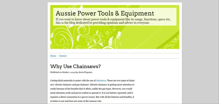 http://aussiepowertools.over-blog.com/2014/10/why-use-chainsaws.html Chainsaws Learn more about chainsaws here.