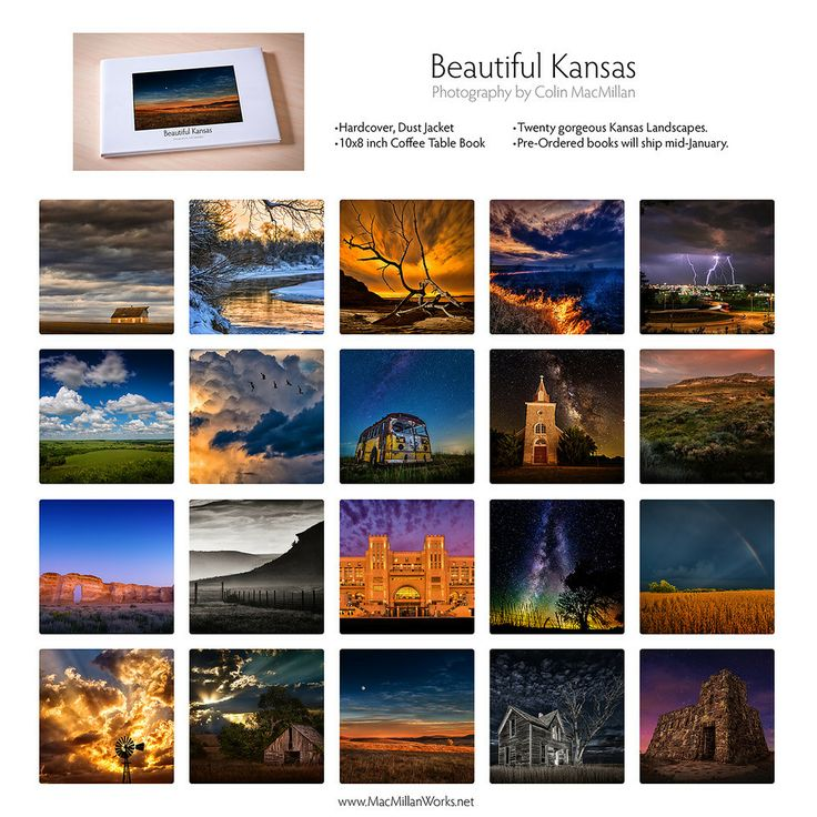 "French Riviera Coffee Table Book: ""Beautiful Kansas"" Coffee Table Book Now In Pre-Order"