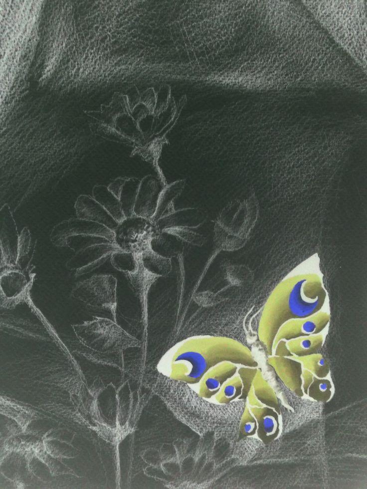 Drawing invert to Negative by Sittichai Pijitam (cycnas)