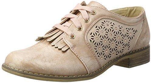 Oferta: 50.78€. Comprar Ofertas de XTINude Pu Ladies Shoes . - Zapatos Planos con Cordones Mujer , color rosa, talla 38 EU barato. ¡Mira las ofertas!