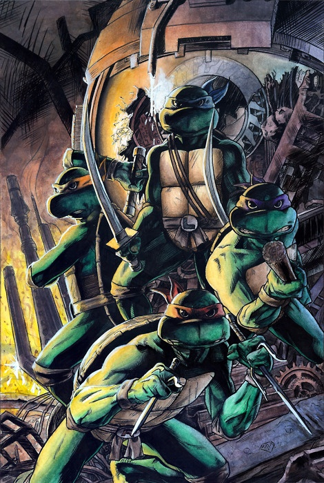 TMNT: teenage mutant nija turtles