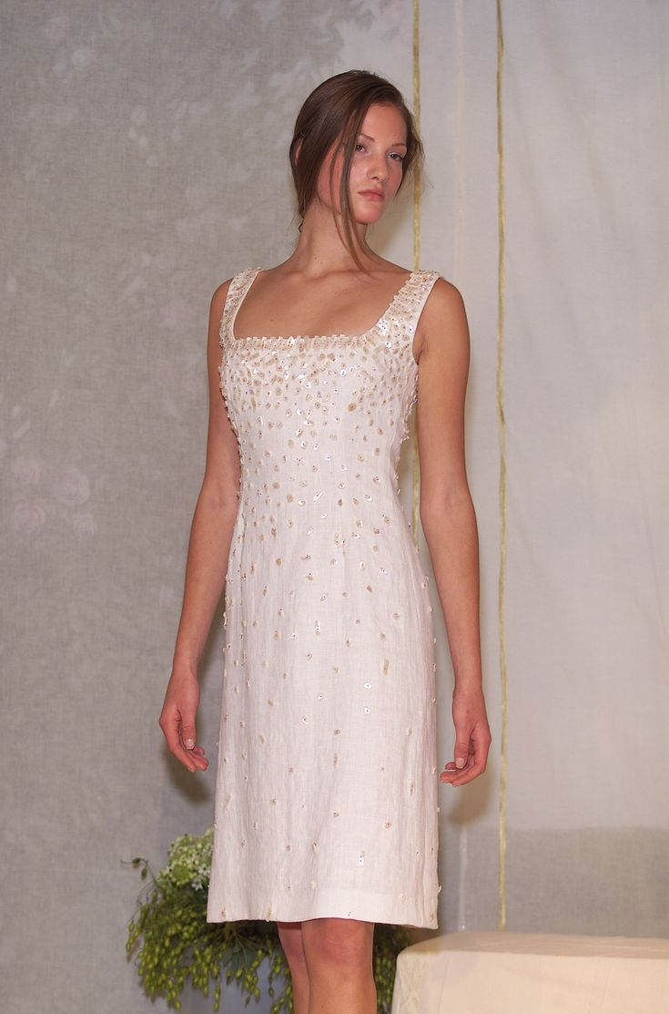 Luisa Beccaria Spring 2001 Runway Pictures - StyleBistro: Spring 2001, Beccaria Spring, Milan Spring, Week Spring