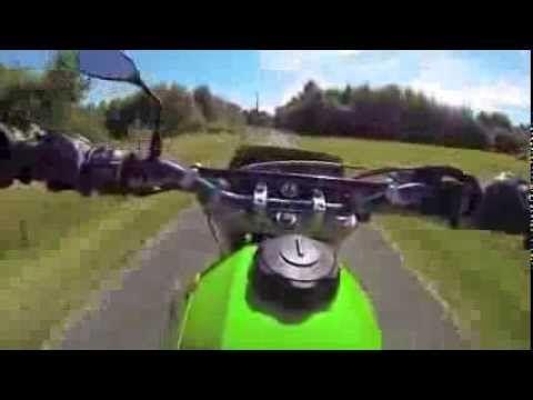 GoPro Hero3 Black edition - Kawasaki KLX650 Supermotard - RideonBoard.net - Onboard videos