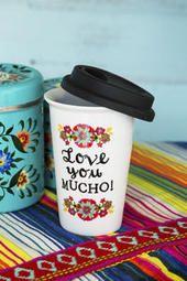 Love You Mucho Travel Mug