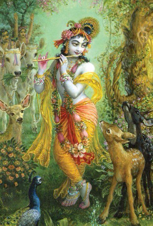 Krishna - the all attractive.