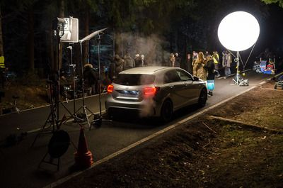Mercedes-Benz A 45 AMG - Nico & Lewis - Behind the scenes of the TV commercial shoot