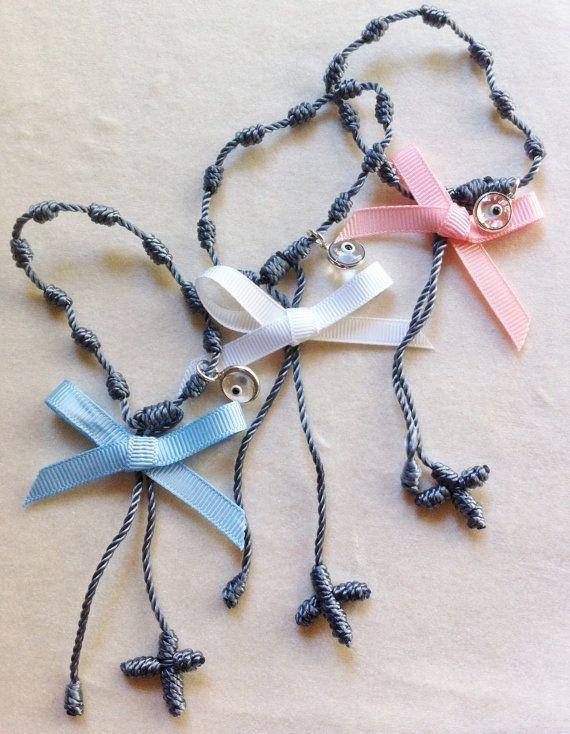 "Handmade Martirika - Witness Bracelet with a ""Mataki"" (Evil Eye)"