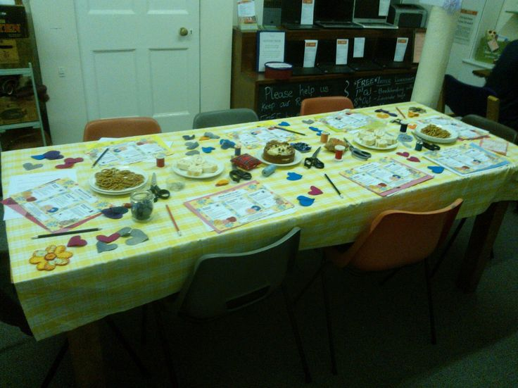 Our workbench ready for everyone to take part in the #wellmaking project, join the party!
