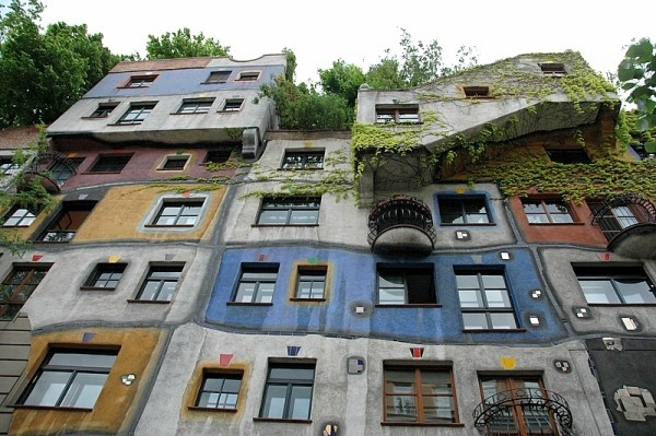 Hundertwasser house, Wien
