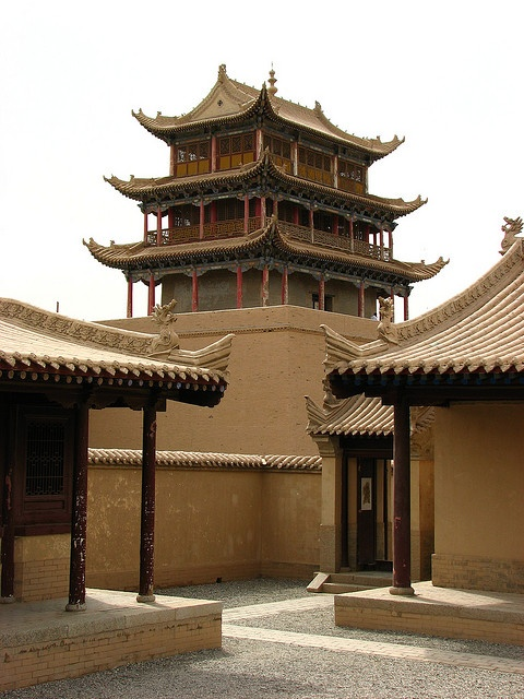 "Jiayuguan or Jiayu Pass (simplified Chinese: 嘉峪关; traditional Chinese: 嘉峪關; pinyin: Jiāyù Guān; literally ""Excellent Valley Pass"")"
